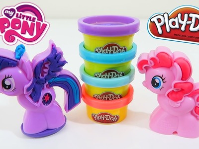 Play Doh My Little Pony MLP Cutie Mark Creators Twinkie Pie & Princess Twilight Sparkle Playset!