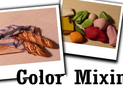Polymer Clay Tip: Color Mixing