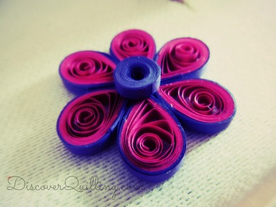 Quilling Tutorial - Quilling flower