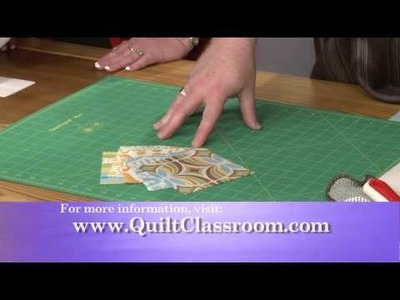 Quilting Squares using Scrap: Make a 3 Square Quilt Intro.