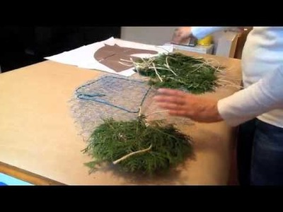 Red Scarf Equestrian: Making Horse Head Wreath Part 2 of 3