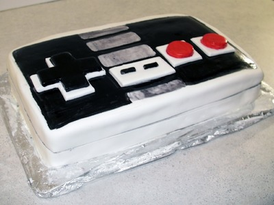 Retro Nintendo Controller  Kool-aid Cake (how-to)