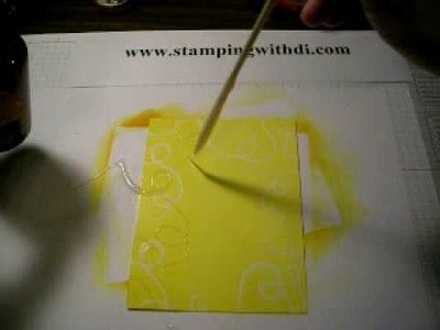 Rubber Cement Drizzle Tutorial with Diana Gibbs