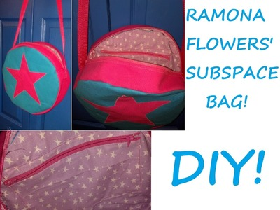 Sewing Nerd! - Tutorial: How to Make a Proper Ramona Flowers Subspace Bag!