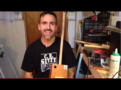 The Chugger: How to make a Quick and Dirty Two String Cigar Box Guitar