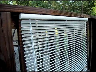 The Redneck Way To Clean Vinyl Blinds.  So Amazing even Billy Mays would be amazed