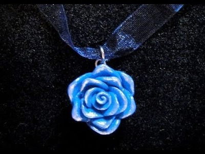 Tutorial 25 • rosa in fimo e cernit - how to create a polymerclay rose