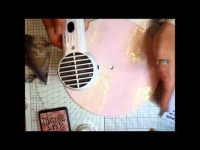 Vintage.Shabby Chic Clock - jennings644