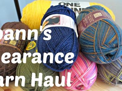 Yarn Haul - Joann's Clearance