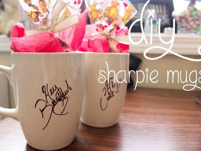 14 Days of Valentine (Day 5): DIY Sharpie Mugs