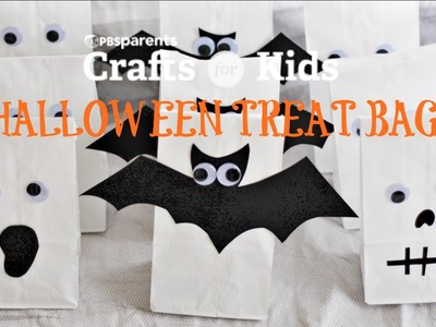 3 Halloween Treat Bags | Crafts for Kids | PBS Parents