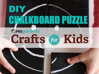 Chalkboard Canvas Puzzle | Crafts for Kids | PBS Parents
