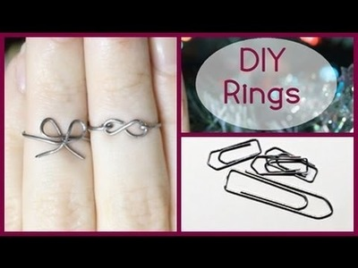 Christmas Gift Idea: DIY - Knuckle Rings