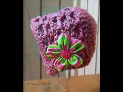Crochet Bonnet Pattern *Sweet Serenity Bonnet*