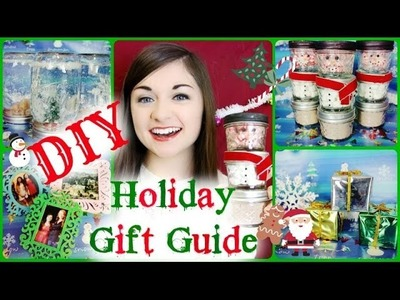 ❄ DIY Christmas Holiday Gift Guide 2013 ❄ | Boys and Girls