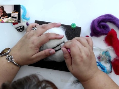 DIY Create a Felted Zombie or Monster Head