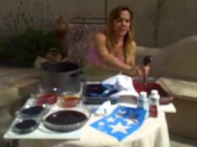 DIY Dip Dyed Shirts Part 1 AZ Mom of Many Hats Vlog!