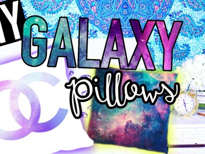 DIY Galaxy Pillows! Tumblr Room Decor for Teens!