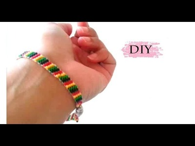 {DIY} Jamaican Bead Bracelet