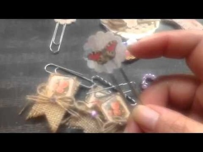 DIY - paper clips and magnetic tabs
