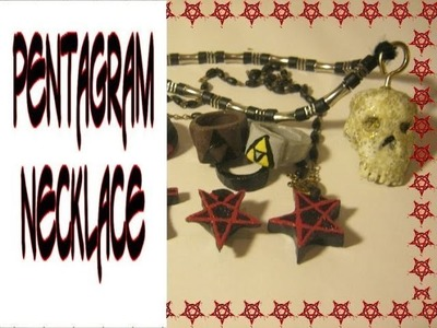 DIY Pentagram Necklace