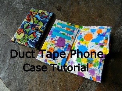 Diy.Tutorial:How To Make A Duct Tape Phone Case