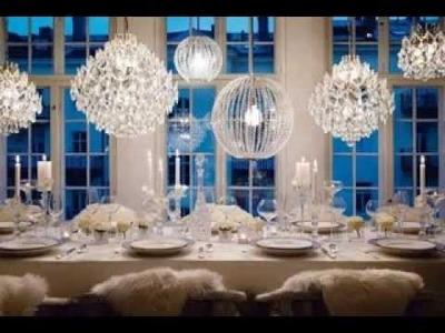 DIY Winter wonderland wedding decorating ideas