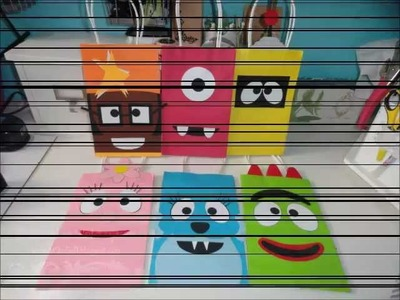 DIY - Yo Gabba Gabba Treat Bags