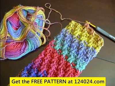 Easy crochet scarf patterns for beginners