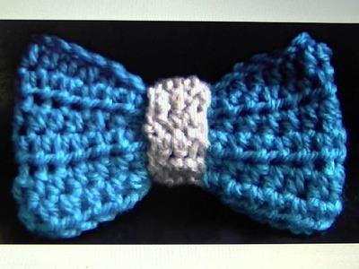 FREE written pattern - Crochet Bow