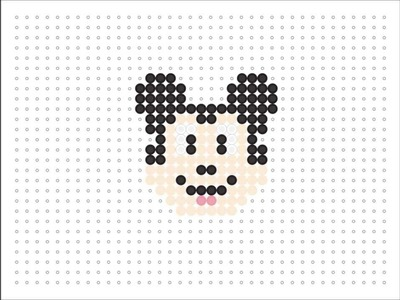 Hama Bead Mickey Mouse (Disney Series #3)