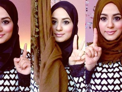Hijab Tutorial : Square Scarf!