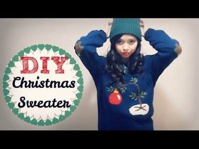 Holiday DIY ❄ Charlie Brown Ugly Christmas Sweater | Enchantelle