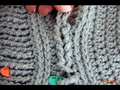 How to Crochet: Braiding Crochet Loops