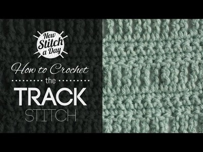 How to Crochet the Track Stitch