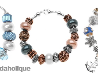 How to Make an European Style Large Hole Bead Bracelet