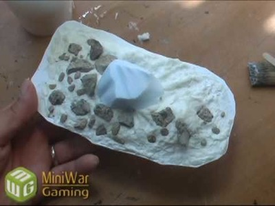 How to Make Crashed Asteroid Terrain for War Games