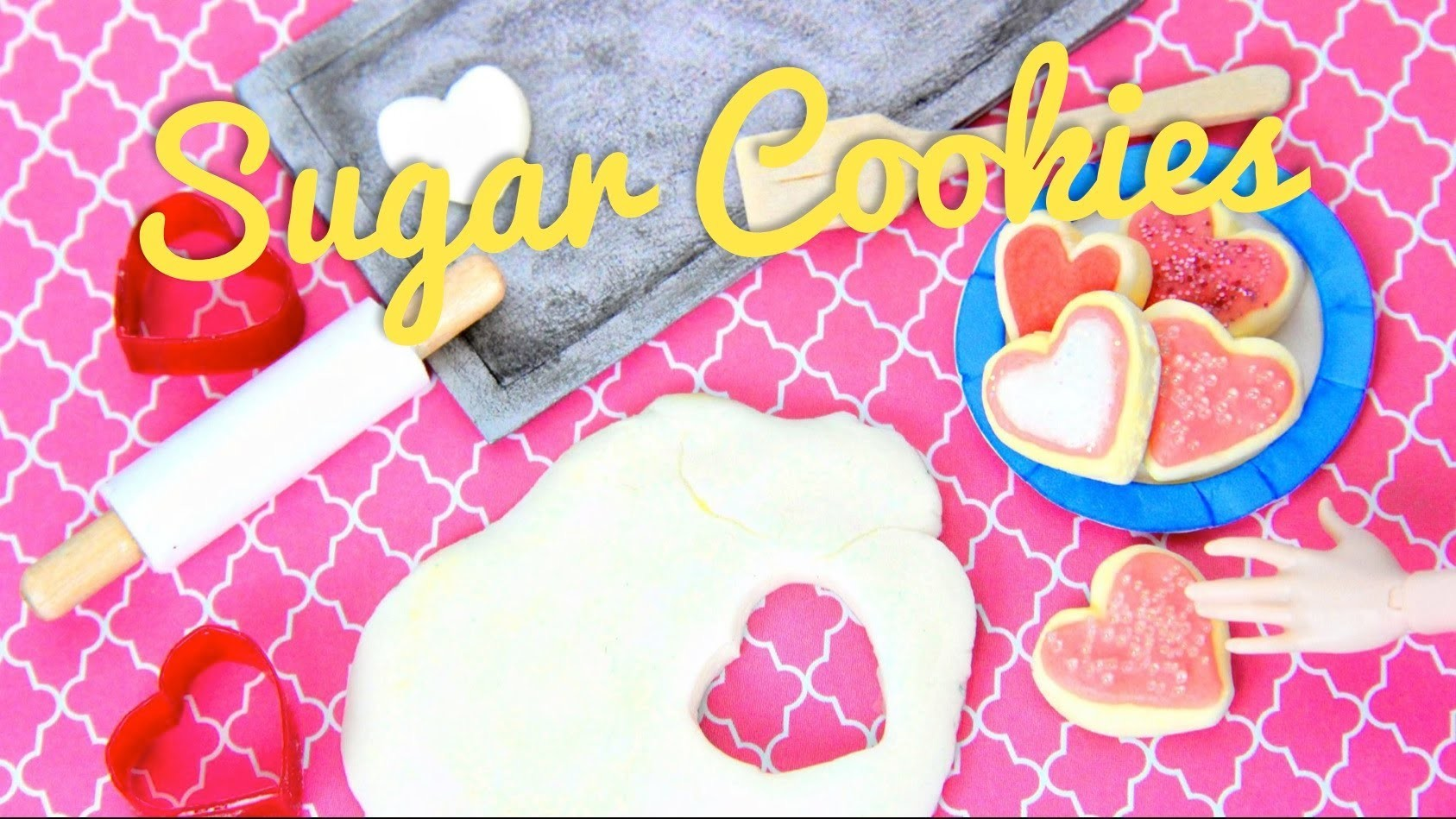 How to Make Doll Sugar Cookies - Doll Crafts