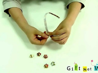 How to Make Lucky Star Origami Paper Tutorial