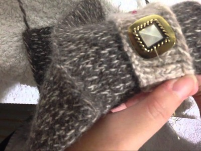 How to Sew: Joining 2 Knitted Fabrics Together (Running Back Stitch)
