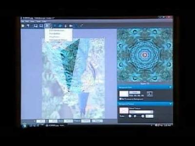 Kaleidoscope Card using Kaleidoscope Kreator™ software from Kaleidoscope Collections