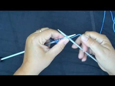 Knit One, Crochet Too: Cable Cast On How-to Method