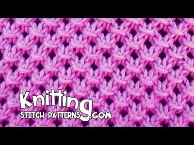 Knotted Openwork Stitch