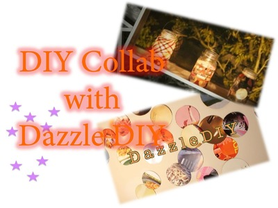 Magazine Lanterns |  DIY Collab with Dazzle DIY