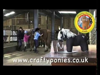 MAKE YOUR OWN PONY and learn about ponies with CRAFTY PONIES!