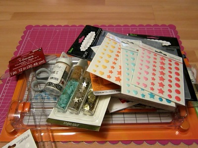 Medium Scrapbook Haul from JoAnn's and Tuesday Morning