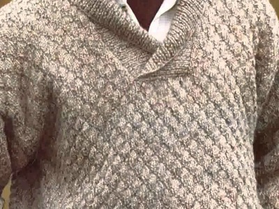 Mens Crochet Sweater Pattern  New Nice