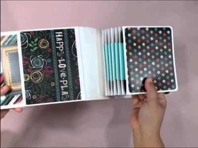 Mini Scrapbook - Insta-Brag Book