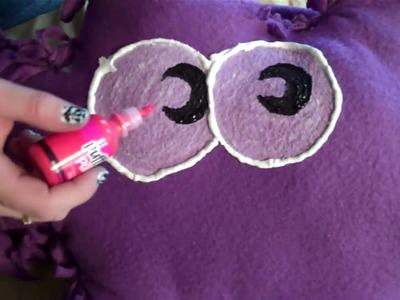 Moshi Monsters - Moshling Pillow No-Sew DIY - Free Online Virtual Pet