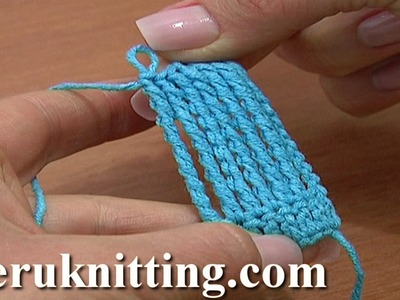 Octuple Treble Crochet Stitch Crochet Basics Tutorial 17